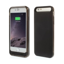 iFans baterie externí s krytem Apple iPhone 6 / 6S 3100mAh MFi certifikovaná - černá