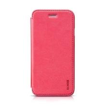 Elegantní flipové kožené pouzdro HOCO pro Apple iPhone 6 / 6S - růžové