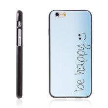 Kryt pro Apple iPhone 6 / 6S gumový - be happy