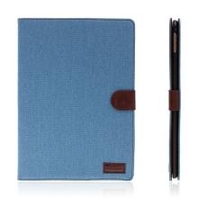 Pouzdro pro Apple iPad Pro 9,7 - stojánek, funkce chytrého uspání a prostor na doklady - modré