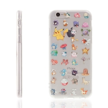 Kryt pro Apple iPhone 6 / 6S gumový - Pokemon Go / Pokemoni