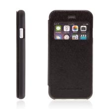 Pouzdro Mercury pro Apple iPhone 6 / 6S - výřez na displej, prostor pro platební karty / doklady - černé