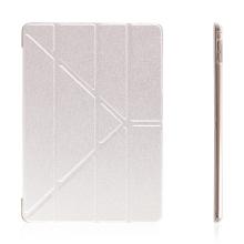 Pouzdro pro Apple iPad Pro 9,7 - variabilní stojánek a funkce chytrého uspání - stříbrné