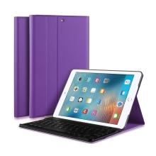 Klávesnice Bluetooth odnímatelná + kryt / pouzdro pro Apple iPad Air 1 / Air 2 / 9,7 (2017 - 2018) - fialová