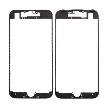 Plastový fixační rámeček pro přední panel (touch screen) Apple iPhone 7 - černý - kvalita A