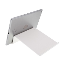 Univerzální plastový stojánek pro Apple iPad a další tablety - bílý