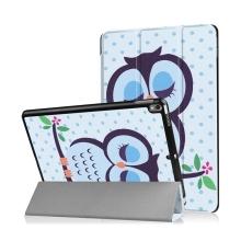 Pouzdro / kryt pro Apple iPad Pro 10,5 - funkce chytrého uspání + stojánek - spící sovička