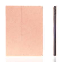 Pouzdro pro Apple iPad Pro 12,9 - integrovaný stojánek a prostor na doklady - světle růžové