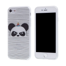 Kryt pro Apple iPhone 7 / 8 - gumový - naštvaná panda