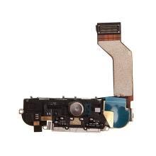 Dock konektor kompletní pro Apple iPhone 4S - reproduktor, anténa a mikrospínač Home Button - bílý