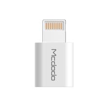 Adaptér MCDODO - Lightning na Micro USB - bílý