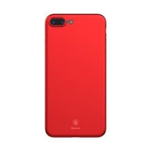 Kryt BASEUS pro Apple iPhone 7 Plus / 8 Plus - plastový - matný - červený - ultratenký