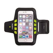 Sportovní svítící pouzdro ROMIX s LED pro Apple iPhone 6 Plus / 6S Plus - černé