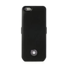 Externí baterie s plastovým krytem pro Apple iPhone 5 / 5S / SE - 3000 mAh - černá