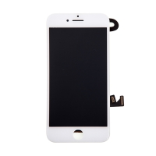 LCD panel + dotykové sklo (touch screen digitizér) pro Apple iPhone 8 - osazený bílý - kvalita A