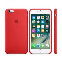 Originální kryt pro Apple iPhone 6 / 6S - silikonový - červený