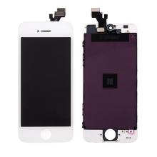 LCD panel + dotykové sklo (touch screen digitizér) pro Apple iPhone 5 - bílý - kvalita A