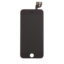 LCD panel + dotykové sklo (touch screen digitizér) pro Apple iPhone 6 - osazený - černý - kvalita A+