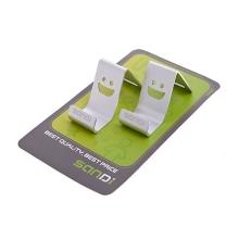 Stylový kovový stojánek pro Apple iPhone / iPod - stříbrný