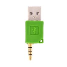 Mini USB datový a nabíjecí adaptér pro iPod Shuffle 2 - Zelený