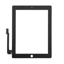 Přední dotykové sklo (touch screen) pro Apple iPad 3. / 4.gen. - černý rámeček - kvalita A+
