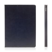Pouzdro pro Apple iPad Pro 12,9 - integrovaný stojánek a prostor na doklady - modré