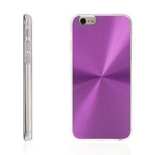 Plasto-hliníkový kryt pro Apple iPhone 6 / 6S - fialový