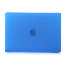 "Obal / kryt pro MacBook Air 2018 13.3"" (A1932) - plastový - tmavě modrý"