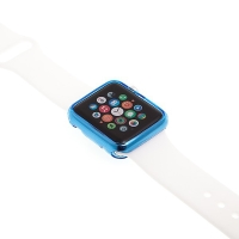 Gumový kryt pro Apple Watch 38mm - modrý