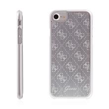 Kryt GUESS 4G Aluminium pro Apple iPhone 7 / 8 - stříbrný