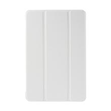 Plastové pouzdro / kryt + Smart Cover pro Apple iPad mini 4 - funkce chytrého uspání a probuzení - bílé