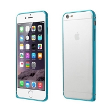 Tenký hliníkový rámeček / bumper LOVE MEI pro Apple iPhone 6 - modrý