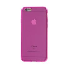 Kryt pro Apple iPhone 6 / 6S - gumový - růžový