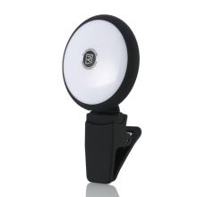LED selfie světlo REMAX pro Apple iPhone - černé
