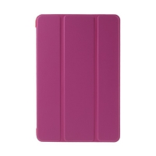 Plastové pouzdro / kryt + Smart Cover pro Apple iPad mini 4 - funkce chytrého uspání a probuzení - růžové