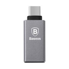 Redukce / adaptér Baseus Sharp Series USB-C / USB 3.0 - šedá