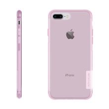 Kryt Nillkin pro Apple iPhone 7 Plus / 8 Plus gumový protiskluzový / antiprachová záslepka - růžový