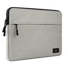 """Pouzdro / obal pro Apple MacBook Pro / Air 13"""" - látkové - světle šedé"""