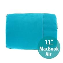Pouzdro POFOKO se zipem pro Apple MacBook Air 11 - modré