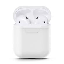 Pouzdro / obal pro Apple AirPods - silikonové - bílé