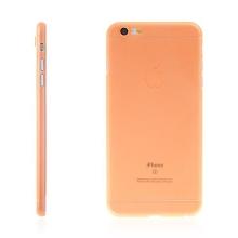 Kryt pro Apple iPhone 6 Plus / 6S Plus plastový tenký ochrana čočky oranžový