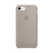 Originální kryt pro Apple iPhone 7 / 8 - silikonový - oblázkově šedý