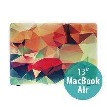 Obal pro Apple MacBook Air 13.3 plastový - 3D tvary