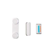Sada postranních tlačítek / tlačítka pro Apple iPhone 5 / 5S / SE (Power + Volume + Mute) - stříbrná (Silver) - kvalita A+