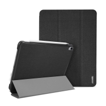 """Pouzdro / kryt DUX DUCIS pro Apple iPad Pro 11"""" (2018) - funkce chytrého uspání + stojánek - černé"""