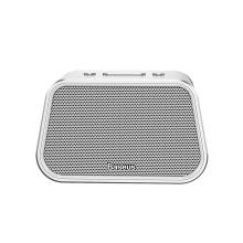 Reproduktor BASEUS ENCOK - Bluetooth 4.2 - slot na Micro SD / TF - USB-A vstup - AUX - stříbrný