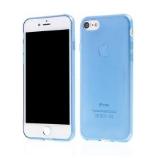 Kryt pro Apple iPhone 7 / 8 gumový tenký ochranný - modrý