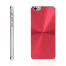Plasto-hliníkový kryt pro Apple iPhone 6 / 6S - červený