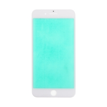 Přední sklo pro Apple iPhone 8 Plus - bílé - kvalita A+
