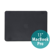 Tenký ochranný plastový obal pro Apple MacBook Pro 13 (model A1278) - matný - černý